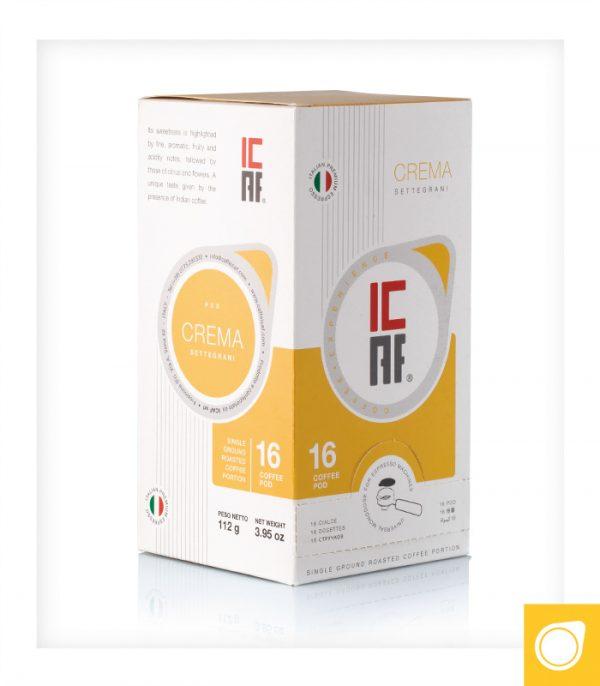 ICAF Crema ESE-servings 16
